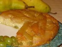 Запіканка сирна з грушами