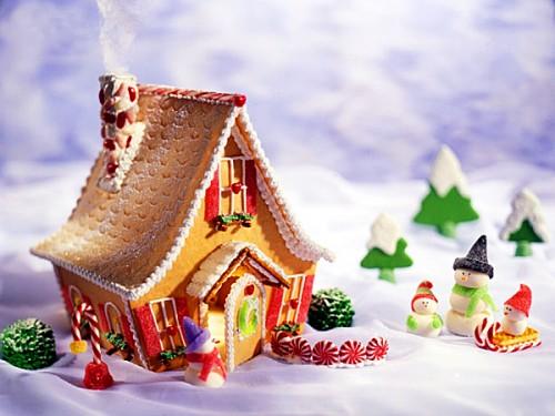 Закордонні новорічні традиції: пряникові будиночки