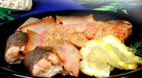 Печеня з лососем
